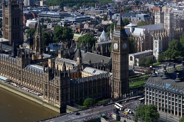 parlament londýn