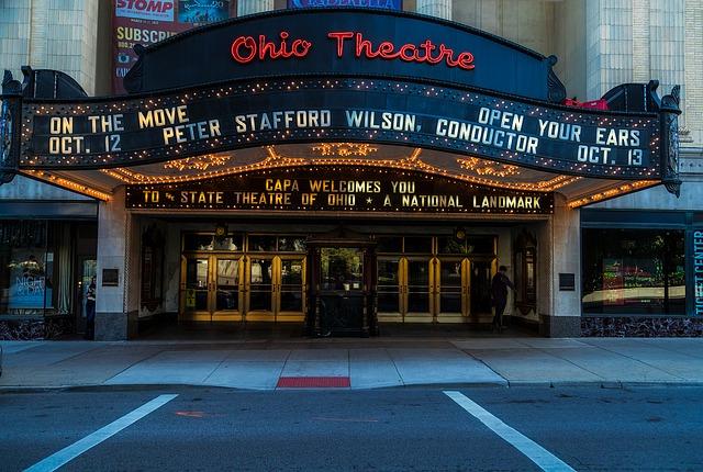 divadlo v Ohiou
