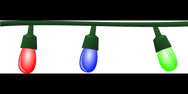 vánoční žárovky