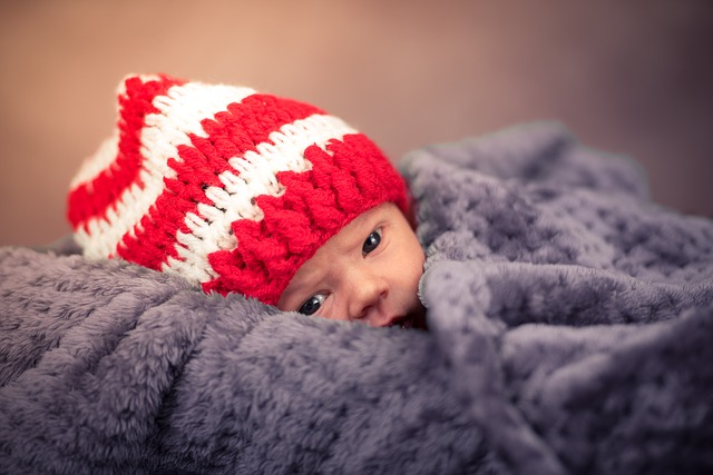 miminko v čepičce